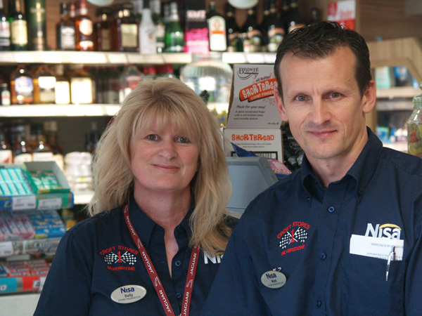 matthew and sally crof of crofts stores silverstone